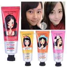 Music Flower 4 color multi-function cosmetics makeup moisturizing whitening concealer BB cream M4044