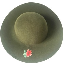 Fashion Women Girl Floppy Derby Hat Wide Large Brim Beach Sun Hat
