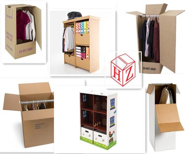 Aangepaste maten en log gedrukte golfkartonnen doos voor de scheepvaart kleding kast buy - Aangepaste kast ...
