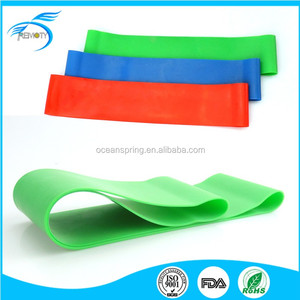Pull up handles circular resistance band Loop Bands Set