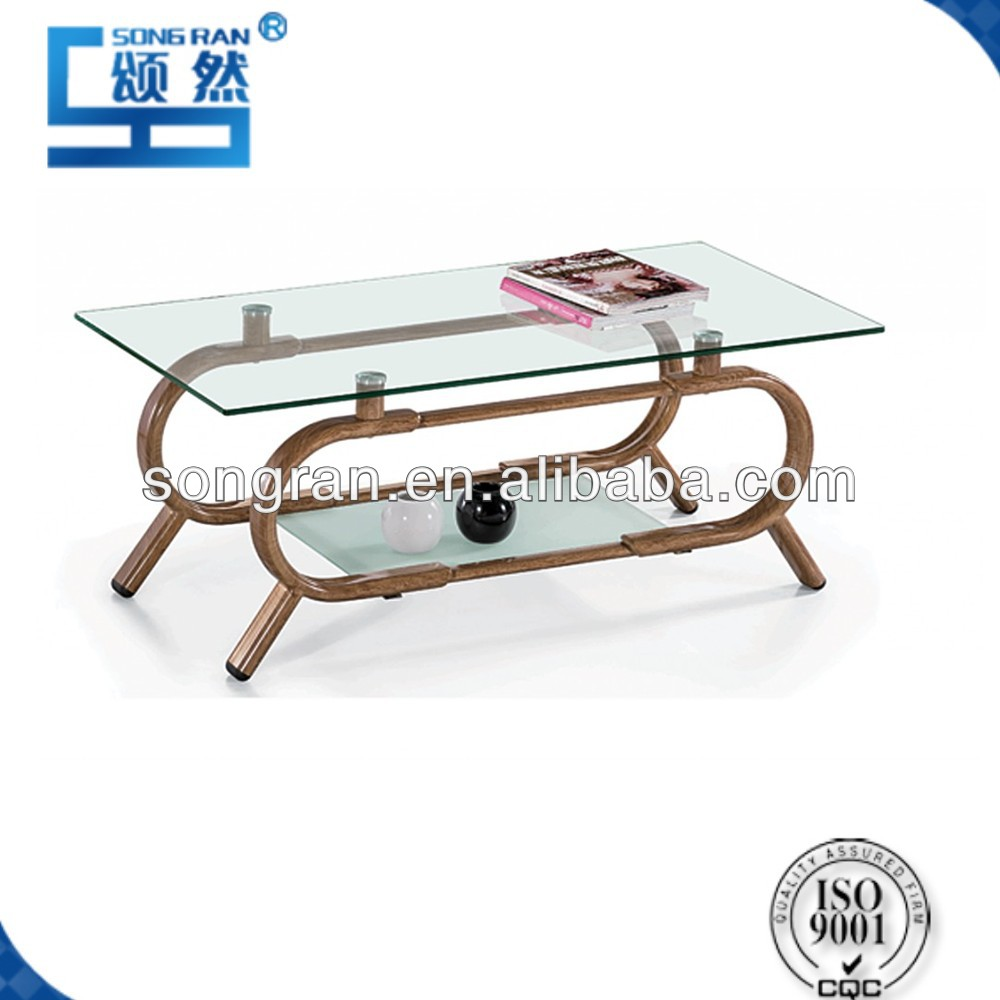 England style glass table coffee table tea table with competitive price