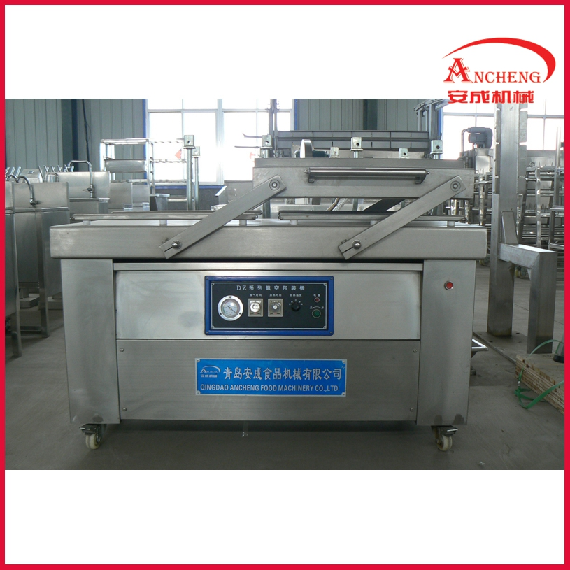Food and meat used filly automatic vacuum packing machine