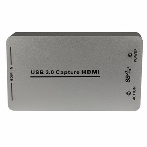 HD100U USB3.0/2.0 Video Dongle Capture Card 1080P Capture One Channel HDMI Input Signal DVR Record Card