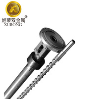 bimetallic mini filament extruder screw barrel