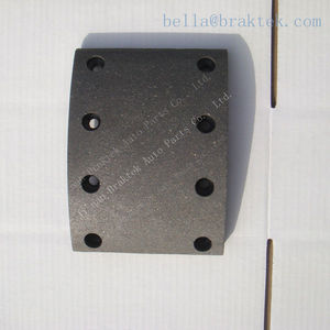 China auto parts heavy duty truck brake lining for Kamaz