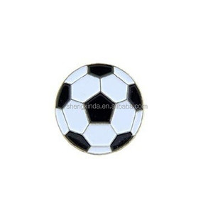 Metal Lapel Pin - Sport & Game Pins & Emblems - Soccer Pins - Soccer Ball