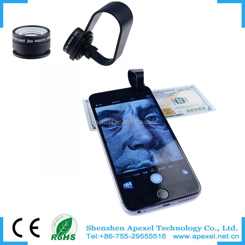 For Iphone 6 Macro Lens,Universal Clip Lens 20x Macro Lens For ...