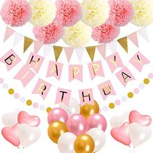 Birthday Decorations Party Supplies,for Kids Girl 1st Birthday Sign Party