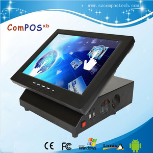 12inch windows android mini all in one pos