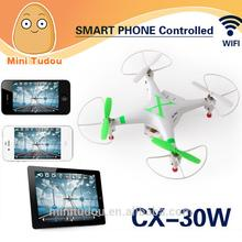 wholesales New Cheerson CX-30W 2.4G 6 Axis Drones With Camera wifi phone control