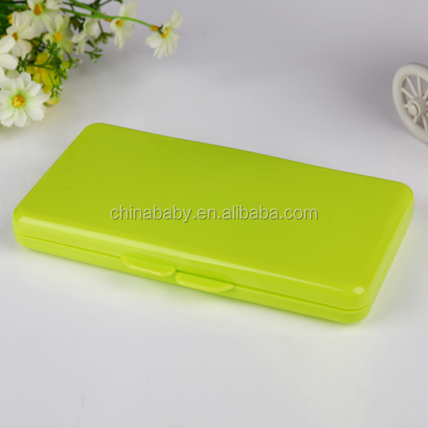 Fashion Pp Plastic Wet Baby Wipe Case With Fda Certificate