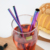 SGS certification barware eco-friendly stainless steel straw metal straw