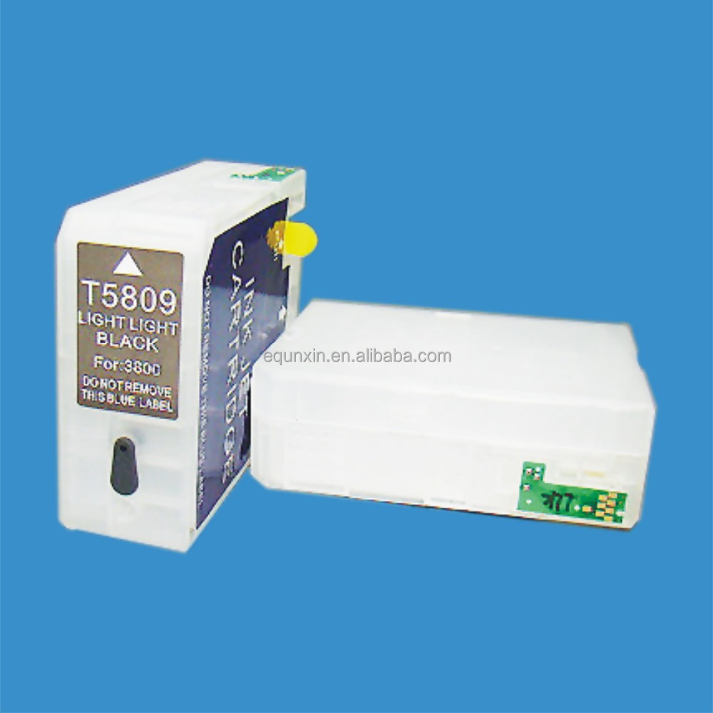Refillable cartridge 80ml with chip for Epson P800 T8501-T8509 cartridge