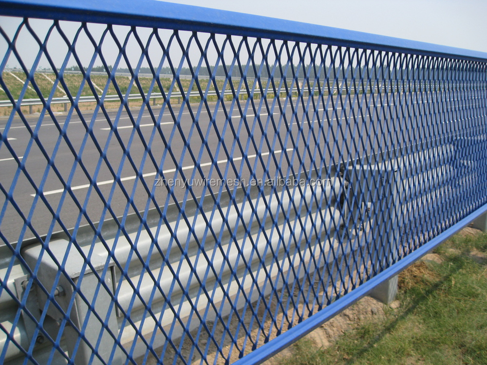 High quality flatten expanded metal wire mesh fence for