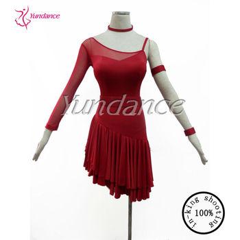 Mp 123 2014 New Professional Rhinestone Lyrical Dance Costume Dress