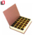 Custom magnetic book shaped chocolate packaging presentation boxes with ribbon