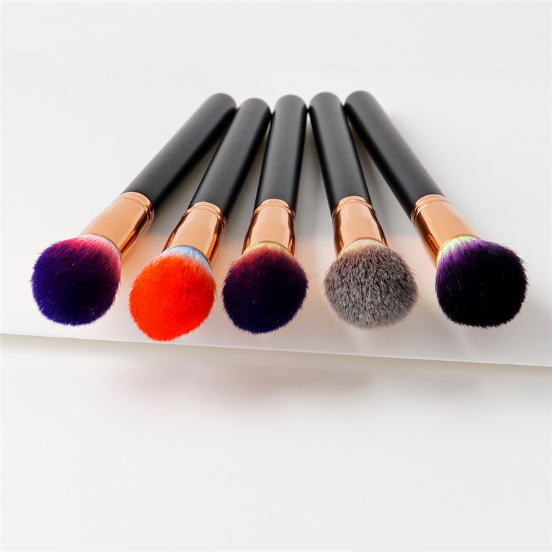 1Pc Flame Top Tapered Makeup Brush Foundation Powder Contour Highlight Highlighter Blending Cosmetic Brush Beauty Tools