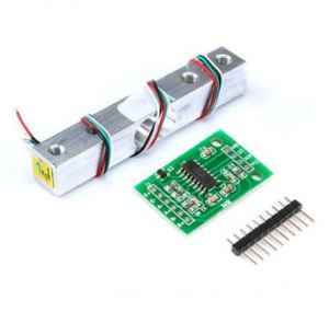 1KG 5KG 10KG 20KG HX711 AD Module Load Cell Weight Sensor Electronic Scale Aluminum Alloy Weighing Pressure Sensor