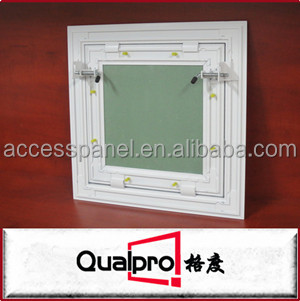 Powder coating Finished Aluminum Ceiling Access Panel with Special Spring Fixed AP7720
