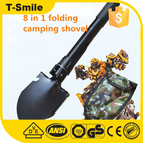 Multi outdoor military garden folding camping shovel