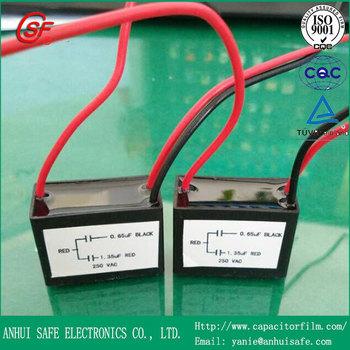 Draht Cbb61 Dual Kondensator 1.35uf/0.65uf - Buy Cbb61 Dual ...