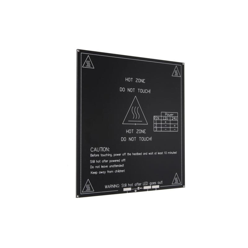3d Printer Mk3 Standard Aluminum Plate 3mm Hot Bed Reprap Provided Integrated Circuits
