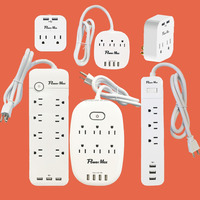 4 outlet USA AMERICA SURGE PROTECTOR America ETL 10 Feet 6 Outlets 1080 joule Surge Suppressor