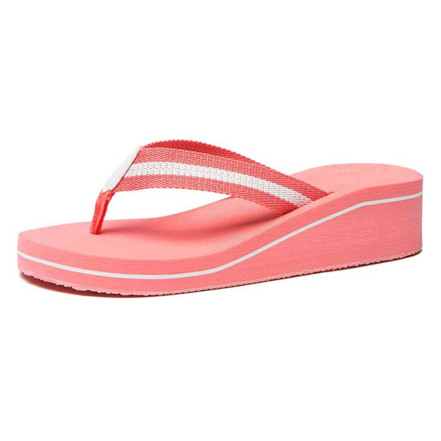 32f49680bfca86 Get Quotations · Jwhui Flip Flops Women Platform Sandals Summer Shoes Woman  Beach Flip Flops for Women s Fashion Casual