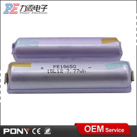 high quality cheap wholesale 3.7v 1x18650 lithium rechargeable battery