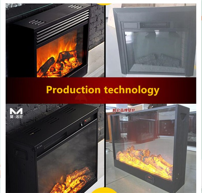 fake flame electric fireplace with led light buy fireplace with led light electrical flame. Black Bedroom Furniture Sets. Home Design Ideas