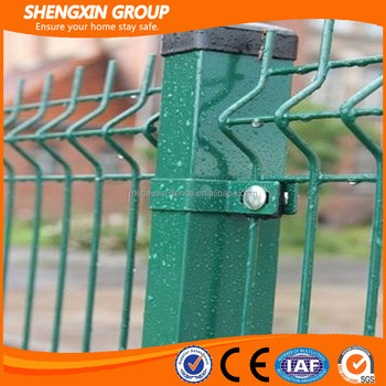 Galvanized Or Pvc Coated Wire Mesh Fence Panel For Boundary Wall ...