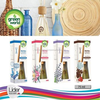 Green World Air Freshener With Bamboo Sticks Buy Air Freshener Car