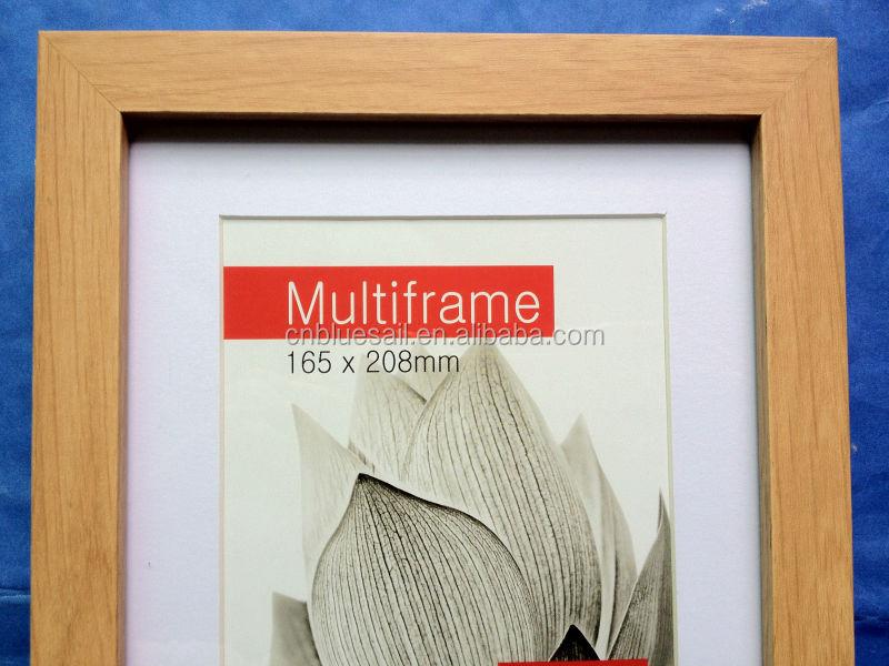 2017 Box Photo Frame,Light Wooden Frames,Wood Grains Natural Frame ...