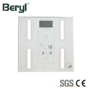 Save Cost 180KG Bathroom Scale Wireless Body Fat Analyzer Glass Panel Weight Scale For Hotel