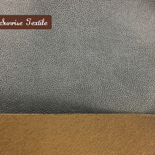 new odm design polyester leatherette, couch cover suede material, bronzed sofa cloth