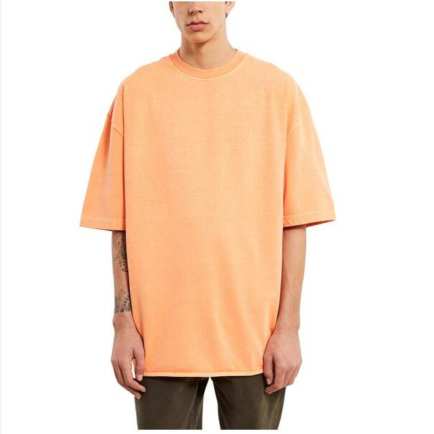 High quality short sleeve 100% heavy cotton oversized t <strong>shirt</strong>