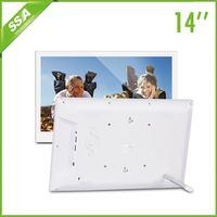 14 inch bluetooth wifi digital photo frame
