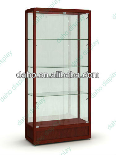 Modern Glass Display Cabinet With Led Lighting (dh-4152)