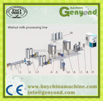 Commercial Almond Juice Drinks Production Line