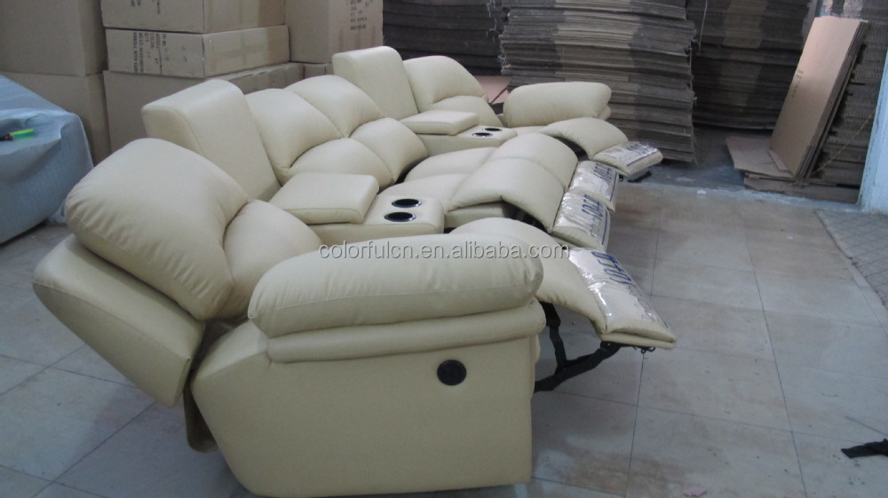 Wonderful Recliner Sofa With Coffee Table For Home,solan,hotel 4 Seats Sofa/recliner