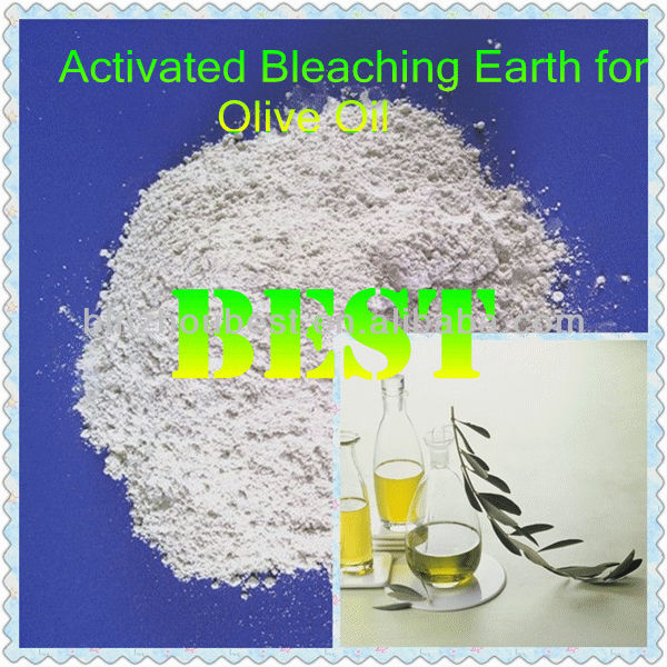 Made In China White Activated Bentonite Clay for Olive Oil