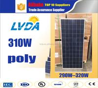 2kw 1kw solar system 300w ploy solar panel