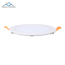 Ultra slim 3W 6W 9W 18W recessed room fixture round ceiling led light panel