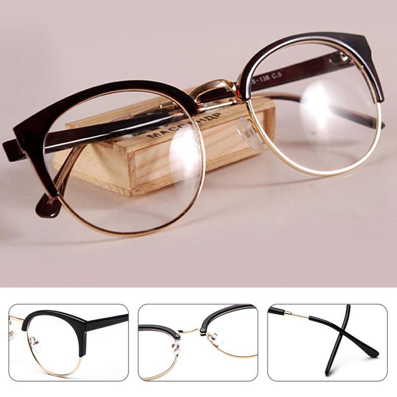 6d56c2418465 2019 Wholesale New Style Anti Radiation Goggles Plain Glass ...