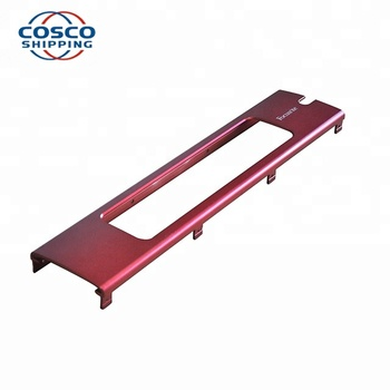 OEM Color Anodizing Aluminum Facepanel for Electronics