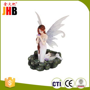2018 Customized Resin Fairy Sculpture Desk Decoration for Gift