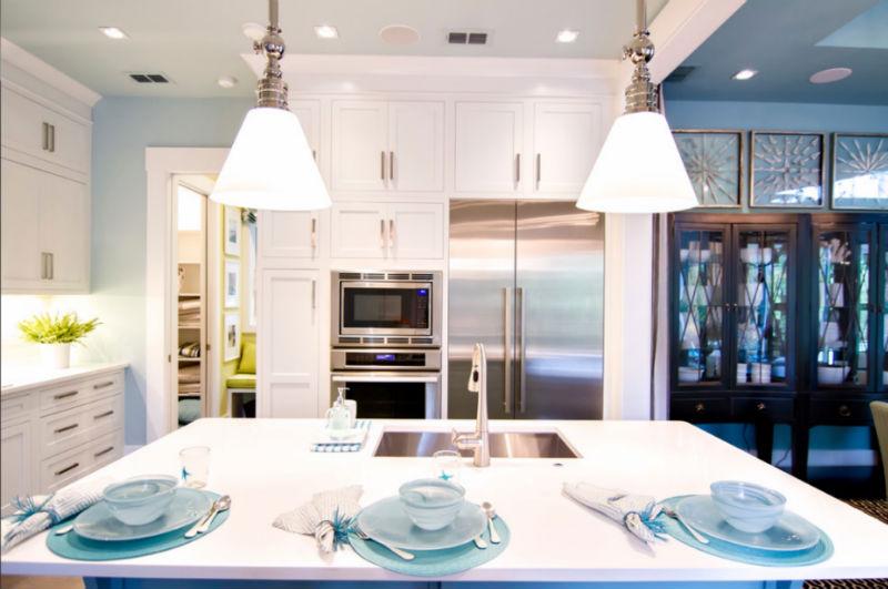 Luxus entworfen große Küche, moderne küche schranktür-Wandschrank ...