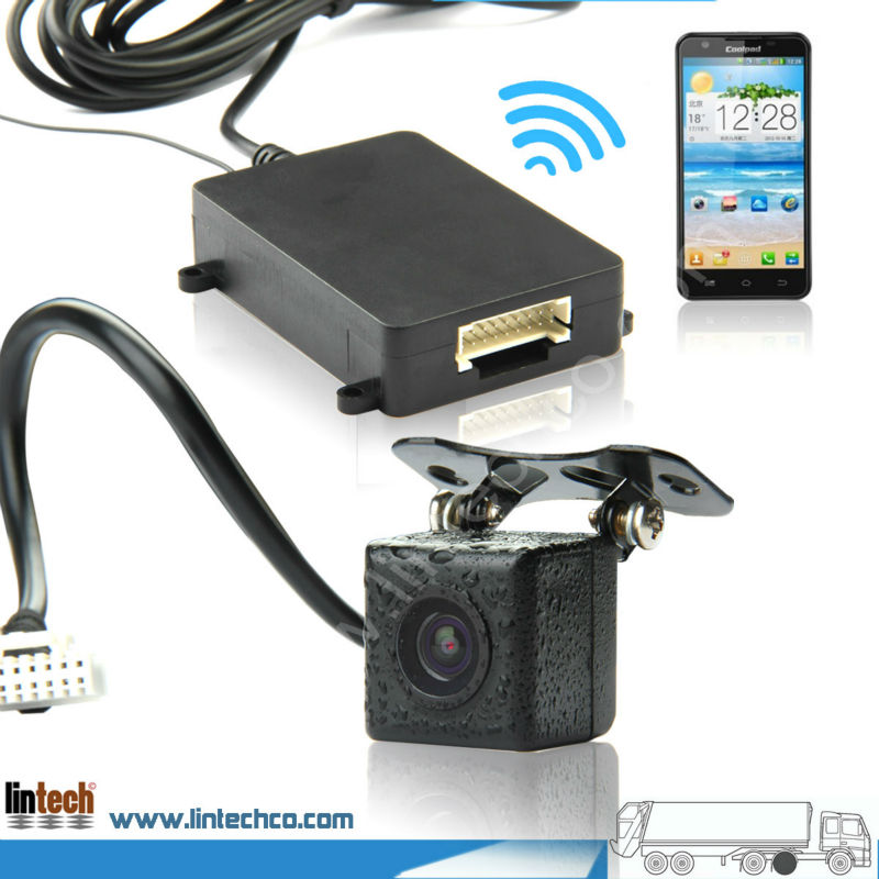 Newest Waterproof Wide View Angle Wifi Backup Camera Work With Android IOS System Pad/ Mobile Phone