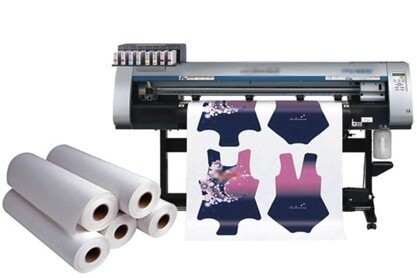 100gsm fabriek flock 44 inch sublimatie papier roll