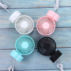 New desktop double leaf USB mini fan convenient small fan office desktop silent fan for summer